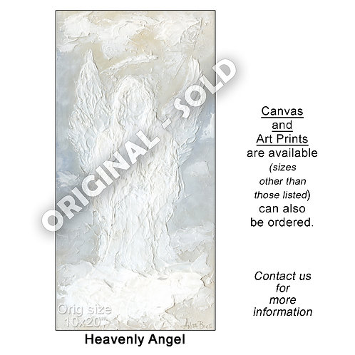 """Heavenly Angel - print"""