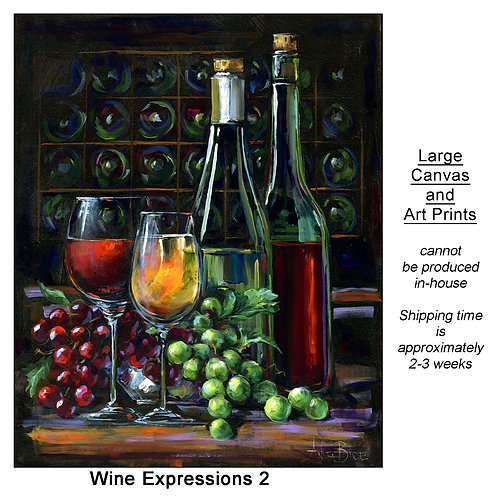 """""""Wine Expressions 2_large prints"""""""