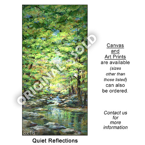 """Quiet Reflections - print"""