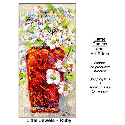 """Little Jewels-Ruby_large prints"""