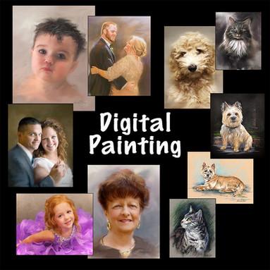 Digital Painting/Portraits