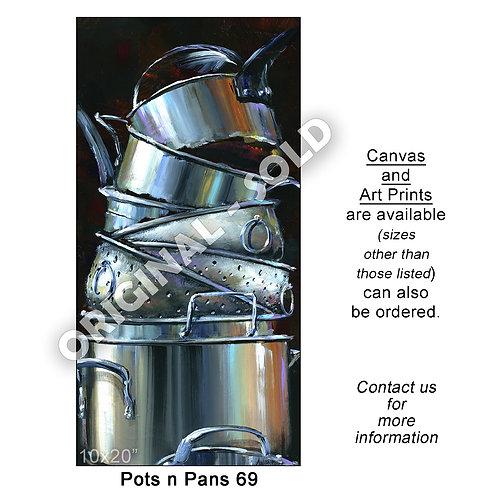 """Pots n Pans 69 - print"""