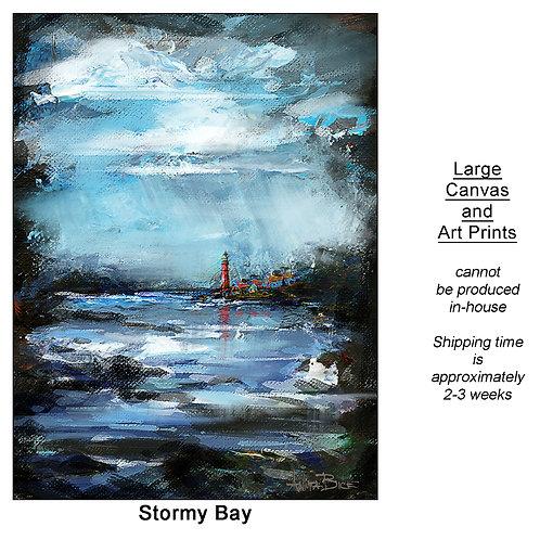 """Stormy Bay_large prints"""