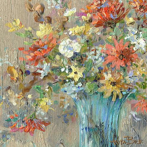 """Turquoise Spring_4x4minis"""