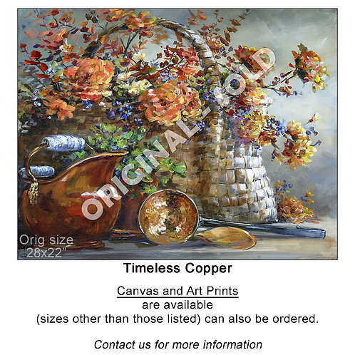 """Timeless Copper - print"""