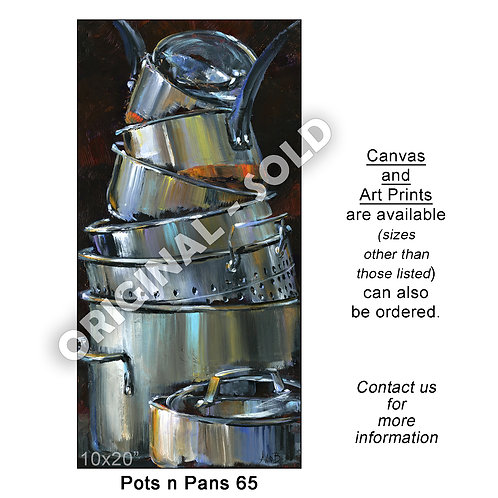 """Pots n Pans 65 - print"""