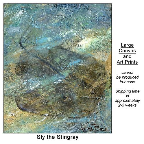 """Sly the Stingray_large prints"""
