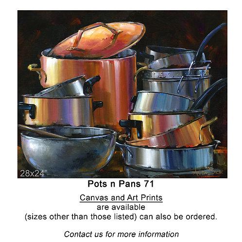 """Pots n Pans 71 - print"""