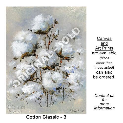"""Cotton Classic - 3 - print"""