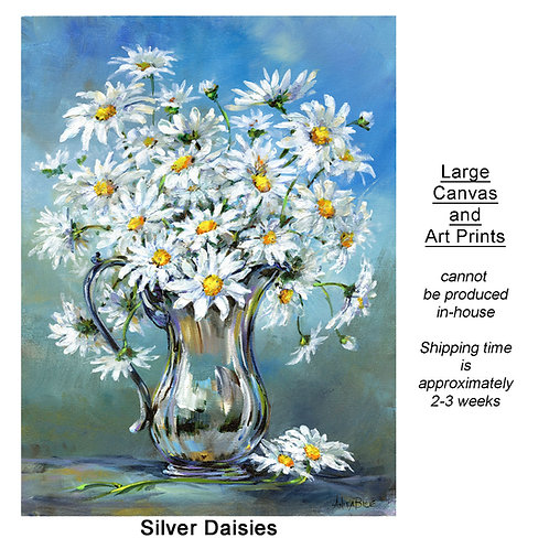 """Silver Daisies_large prints"""