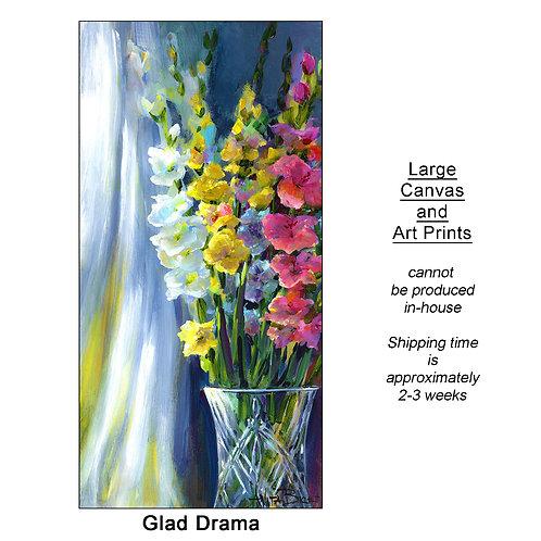 """Glad Drama_large prints"""