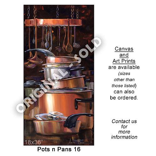 """Pots n Pans 16 - print"""