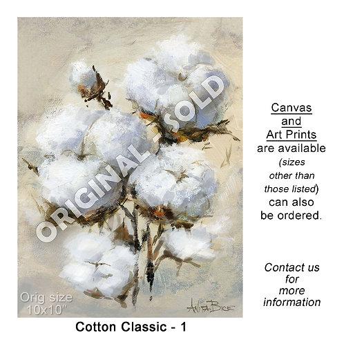 """Cotton Classic - 1 - print"""