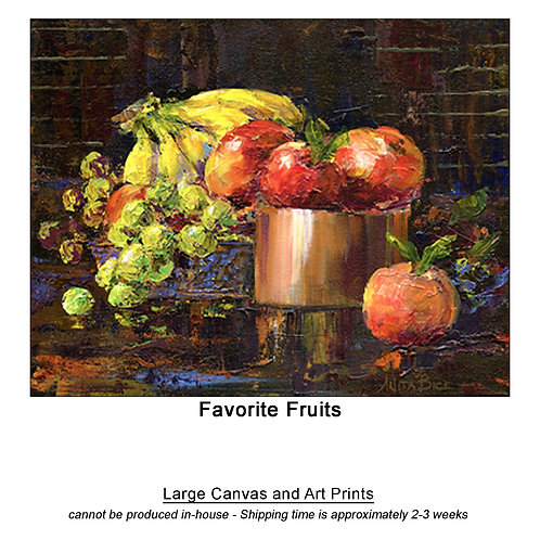 """Favorite Fruits_large prints"""