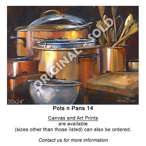 """Pots n Pans 14 - print"""