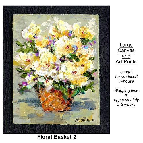 """""""Floral Basket 2_large prints"""""""