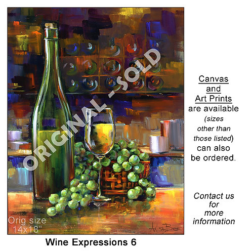 """Wine Expressions 6 - print"""