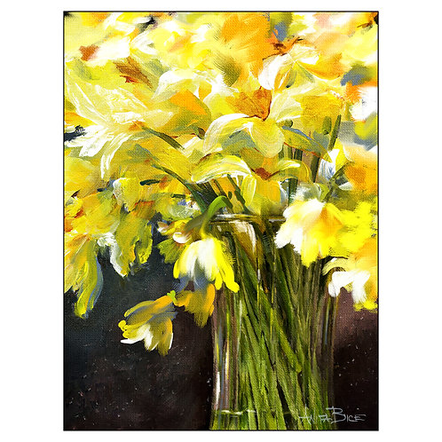 """""""Daffodils - Signs of Spring_vertical"""""""