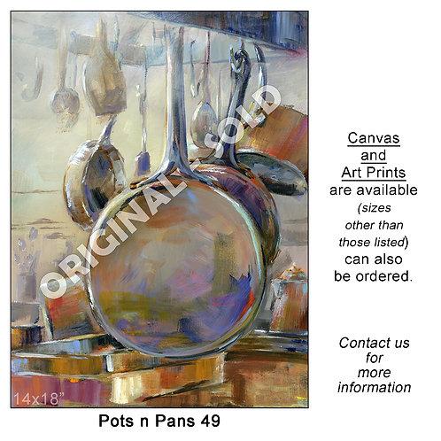 """Pots n Pans 49 - print"""