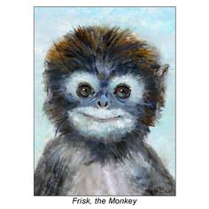 SQUARE - Frisk the Monkey_6x8.jpg