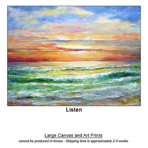 """Listen_large prints"""