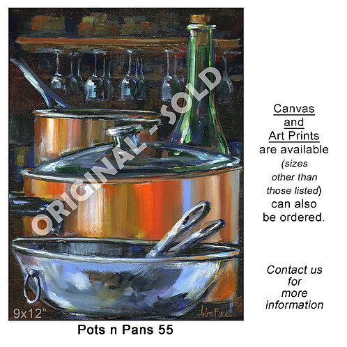 """Pots n Pans 55 - print"""