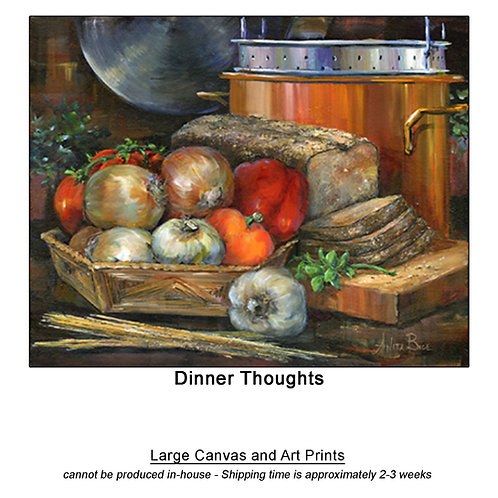 """""""Dinner Thoughts_large prints"""""""