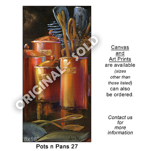 """Pots n Pans 27 - print"""
