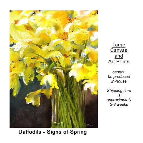 """Signs of Spring-Vert_large prints"""