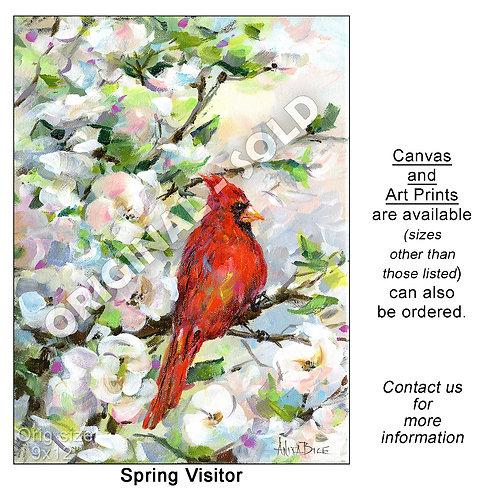 """Spring Visitor - print"""