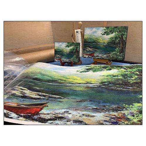 "Fine Art/Canvas Print - ""Day Trip"""