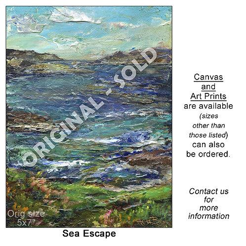 """""""Sea Escape - print"""""""