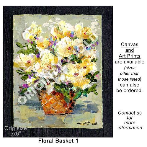 """""""Floral Basket 1"""""""