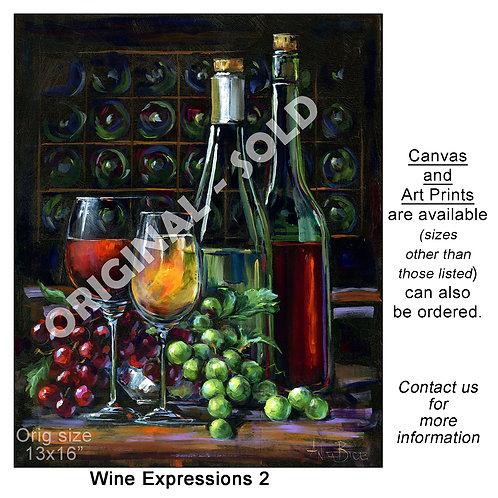 """Wine Expressions 2 - print"""