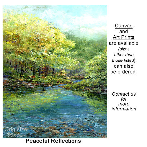 """""""Peaceful Reflections - print"""""""