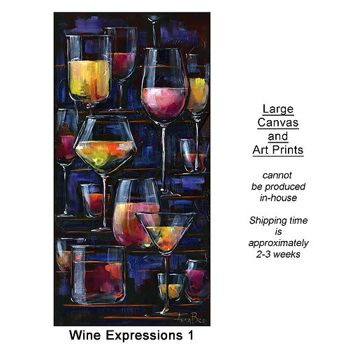 """""""Wine Expressions 1_large prints"""""""