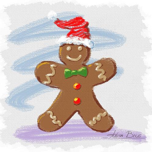 """Gingerbread Man_4x4minis"""