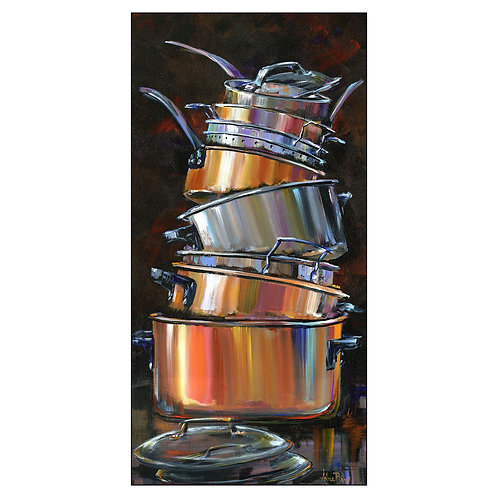 """Pots and Pans 61"""