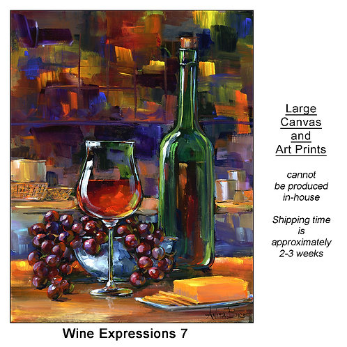 """""""Wine Expressions 7_large prints"""""""