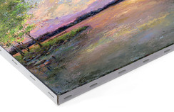 "Sample - 3/4"" canvas for framing"