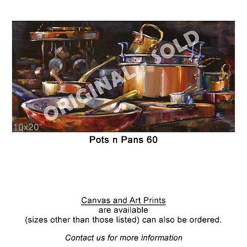 """Pots n Pans 60 - print"""