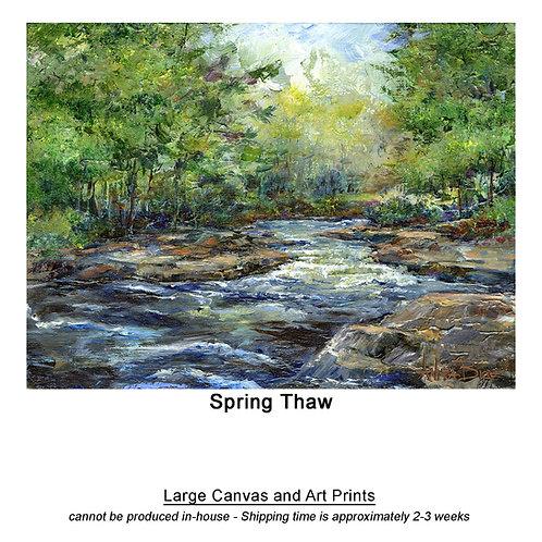 """Spring Thaw_large prints"""