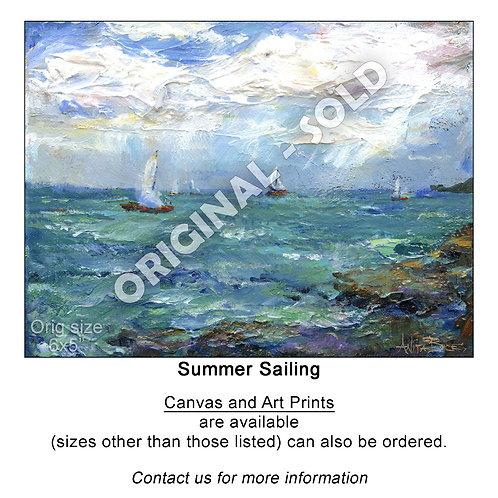 """""""Summer Sailing - print"""""""