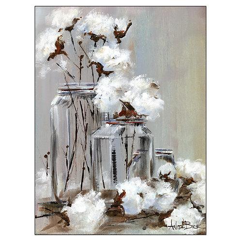 """""""Arranging Cotton - 8"""""""