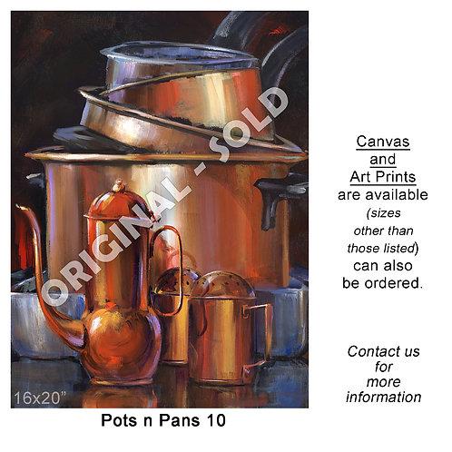 """Pots n Pans 10 - print"""