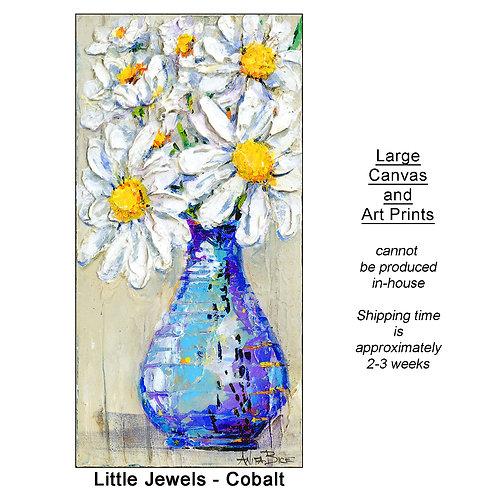 """Little Jewels-Cobalt_large prints"""
