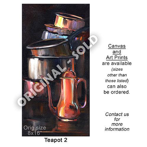 """""""Teapot 2 - print"""""""