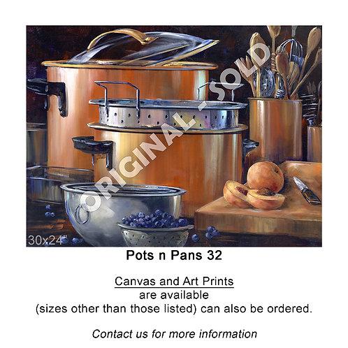 """Pots n Pans 32 - print"""