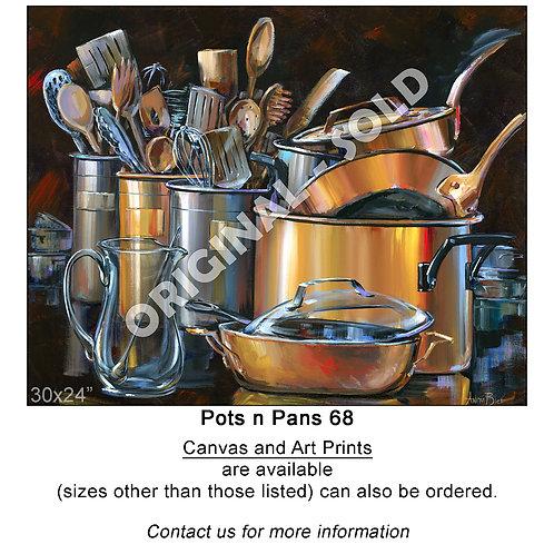 """Pots n Pans 68 - print"""