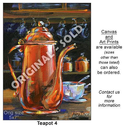 """""""Teapot 4 - print"""""""